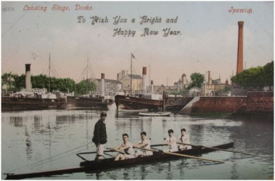 ORC Crew Postcard 1903